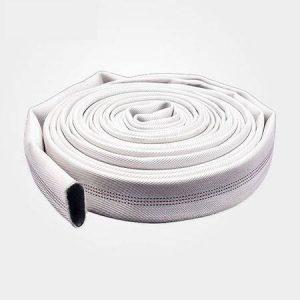 شلنگ آتش نشانی 6 اینچ کتان سفید
