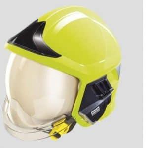 کلاه آتش نشانی MSA F1 XF