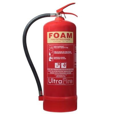 بررسی و نگهداری از کپسول آتش نشانی
